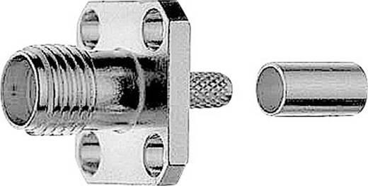 SMA-Steckverbinder Flanschbuchse 50 Ω Telegärtner J01151A1011 1 St.