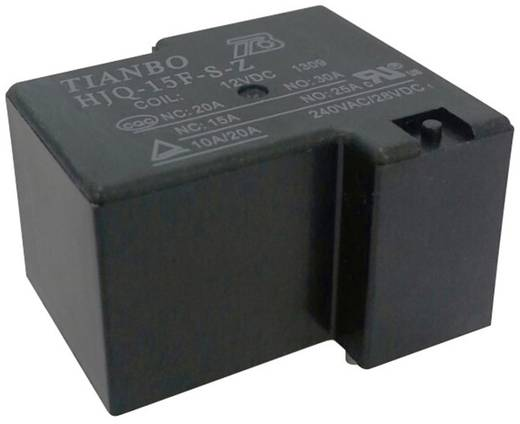 Tianbo Electronics HJQ-15F-S-Z-24VDC Printrelais 24 V/DC 30 A 1 Wechsler 1 St.
