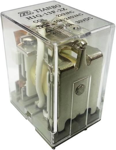 Tianbo Electronics HJQ-13F-2Z - 220/240VAC Steckrelais 230 V/AC 15 A 2 Wechsler 1 St.