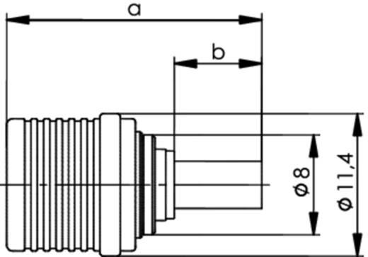 QLS-Steckverbinder Stecker, gerade 50 Ω Telegärtner J01420A0055 1 St.