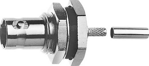 BNC-Steckverbinder Buchse, Einbau 50 Ω Telegärtner J01001C0045 1 St.