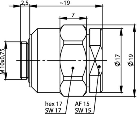 Kabelverschraubung Telegärtner H01012A0057 1 St.