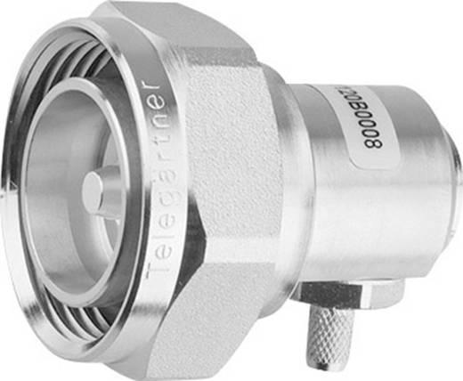 7-16-DIN-Steckverbinder Stecker, gewinkelt 50 Ω Telegärtner J01120B0009 1 St.