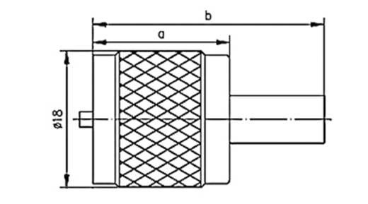 UHF-Steckverbinder Stecker, gerade 50 Ω Telegärtner J01040A0009 1 St.