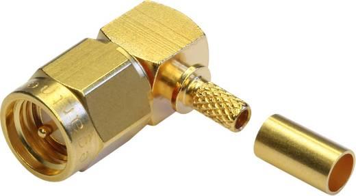 SMA-Steckverbinder Stecker, gewinkelt 50 Ω Telegärtner J01150A0081 1 St.