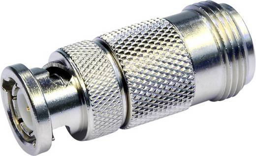 Koax-Adapter BNC-Stecker - N-Buchse Telegärtner J01008A0824 1 St.