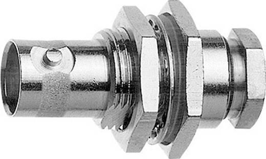 BNC-Steckverbinder Buchse, Einbau 50 Ω Telegärtner J01001A1223 1 St.