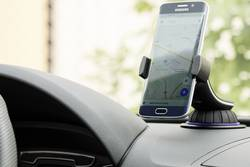 Držák mobilního telefonu do auta Goobay 40731, 50 - 90 mm