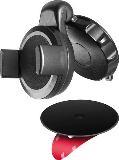 goobay universal smartphone halterung f r windschutzscheibe. Black Bedroom Furniture Sets. Home Design Ideas