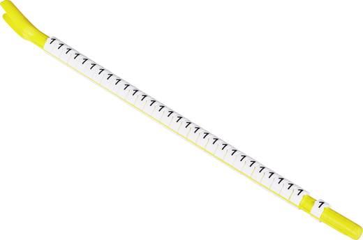 Kennzeichnungsclip Aufdruck 8 Außendurchmesser-Bereich 1 bis 1.80 mm 318610-000 STD02W-8 TE Connectivity