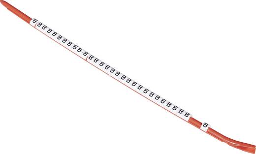 Kennzeichnungsclip Aufdruck A Außendurchmesser-Bereich 2.30 bis 3 mm 8-1768042-3 STD05W-A TE Connectivity