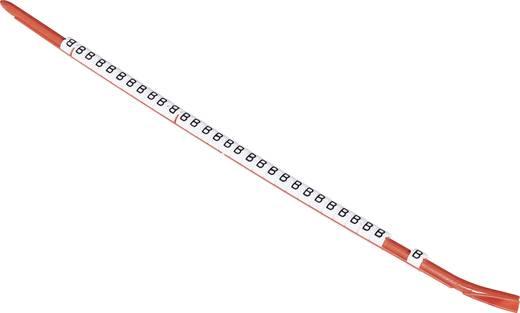 Kennzeichnungsclip Aufdruck X Außendurchmesser-Bereich 2.60 bis 3.50 mm 061564-000 STD06W-X TE Connectivity