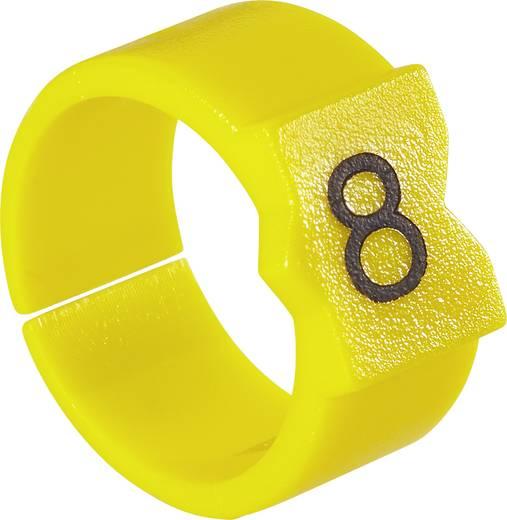 Kennzeichnungsclip Aufdruck D Außendurchmesser-Bereich 3.25 bis 4.50 mm 281690-000 STD09Y-D TE Connectivity