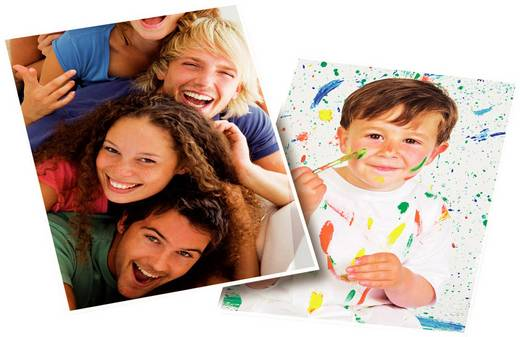 Fotopapier Avery-Zweckform Classic Photo Paper Inkjet 2573-60 DIN A4 160 g/m² 60 Blatt Glänzend