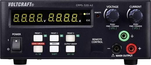 Labornetzgerät, einstellbar VOLTCRAFT CPPS-320-42 0.02 - 42 V/DC 0.01 - 20 A 320 W USB fernsteuerbar, programmierbar, Au