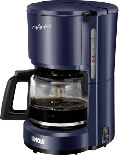 Kaffeemaschine Unold Compact Blau Fassungsvermögen Tassen=10 Warmhaltefunktion