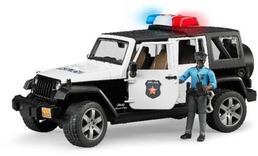 Bruder Jeep Wrangler UR Polizei+Polizist dunk