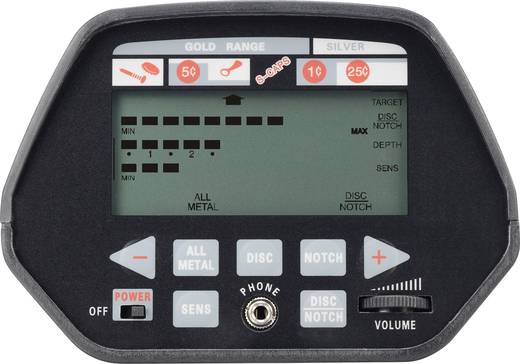 Renkforce MD 5000 Metalldetektor Suchtiefe (max.) 20 cm