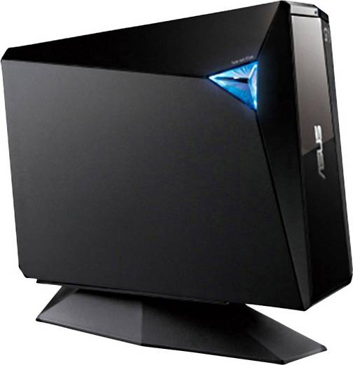 Asus BW-16D1H-U Pro Blu-ray Brenner Extern Retail USB 3.0 Schwarz