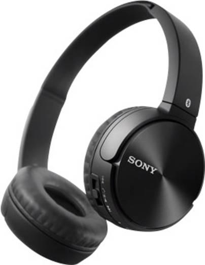 Sony ZX330BT Bluetooth® Kopfhörer On Ear Faltbar, Headset, NFC Schwarz