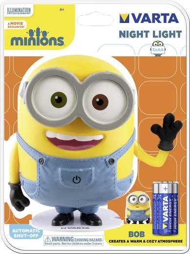 Varta Minions Bob 15615101421 LED-Nachtlicht Minion LED Warm-Weiß Bunt