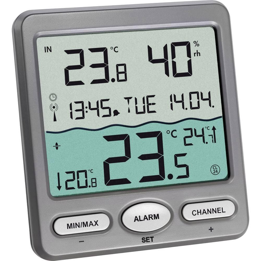 thermom tre de piscine tfa venice funk pool thermometer anthracite sur le site internet conrad. Black Bedroom Furniture Sets. Home Design Ideas