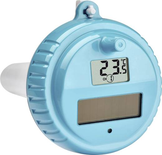Schwimmbecken thermometer tfa venice funk pool thermometer for Poolthermometer obi