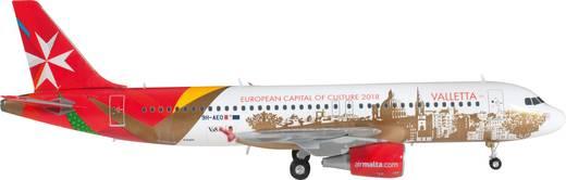 """Luftfahrzeug 1:200 Herpa Air Malta Airbus A320 """"Valletta 2018"""" 557023"""