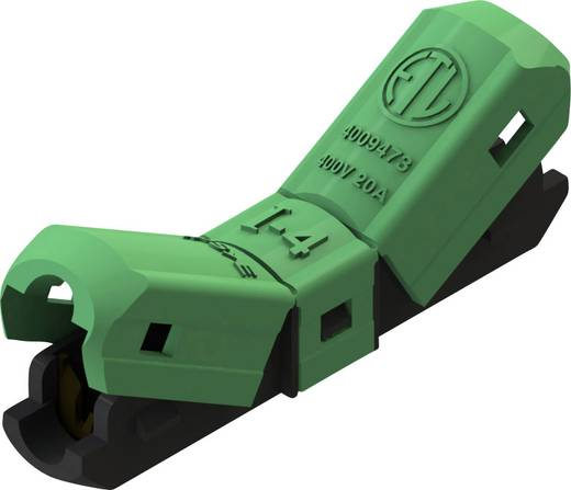 Einzeladerverbinder flexibel: -2.5 mm² starr: -2.5 mm² Polzahl: 1 1369114 1 St. Grün