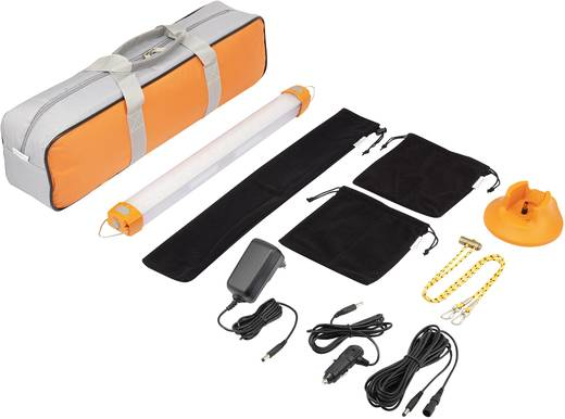 LED Camping-Leuchte Renkforce akkubetrieben 466 g Orange 1369125