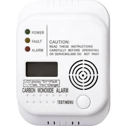 Detektor úniku oxidu uhoľnatého (CO) Smartwares RM370 SW, na batérie