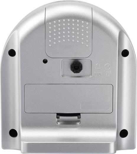 Eurochron EQW 7900 Quarz Wecker Grau Alarmzeiten 1