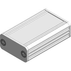Profilové puzdro Fischer Elektronik AKG 55 16 50 ME 10023361, 50 x 55 x 16 , hliník, prírodná, 1 ks