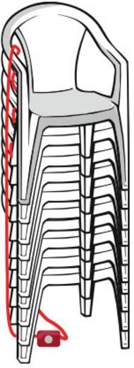Kabelschloss mit Sirene Lock Alarm 6798 Schwarz/Silber Schlüsselschloss