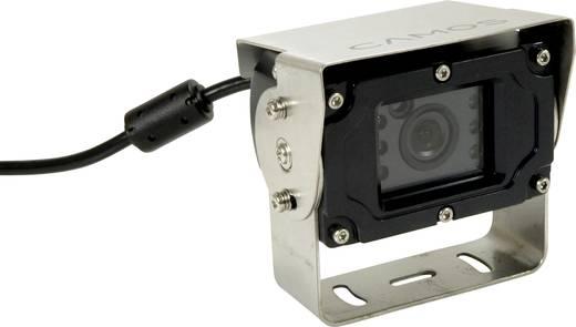 Camos CA-33 Kabel-Rückfahrvideosystem Spiegelfunktion, Heavy Duty Kamera, integrierte Heizung Schraubmontage, Aufbau Ant