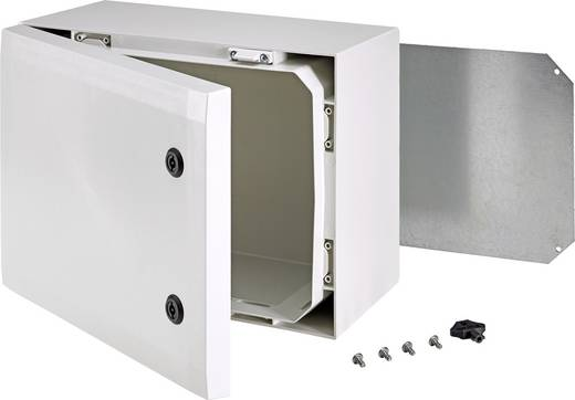 Fibox ARCA 806030 Wand-Gehäuse, Installations-Gehäuse 800 x 600 x 300 Polycarbonat Licht-Grau (RAL 7035) 1 St.