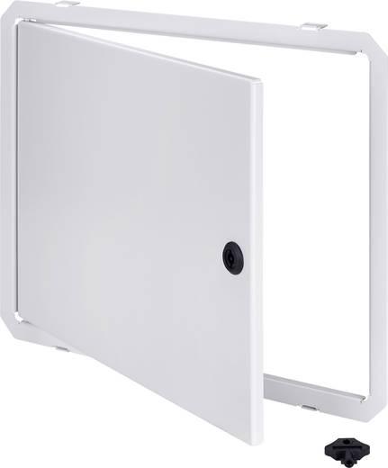 Gehäusetür (L x B) 400 mm x 600 mm Stahl Licht-Grau (RAL 7035) Fibox ARCA IDS ARCA 4060 1 St.