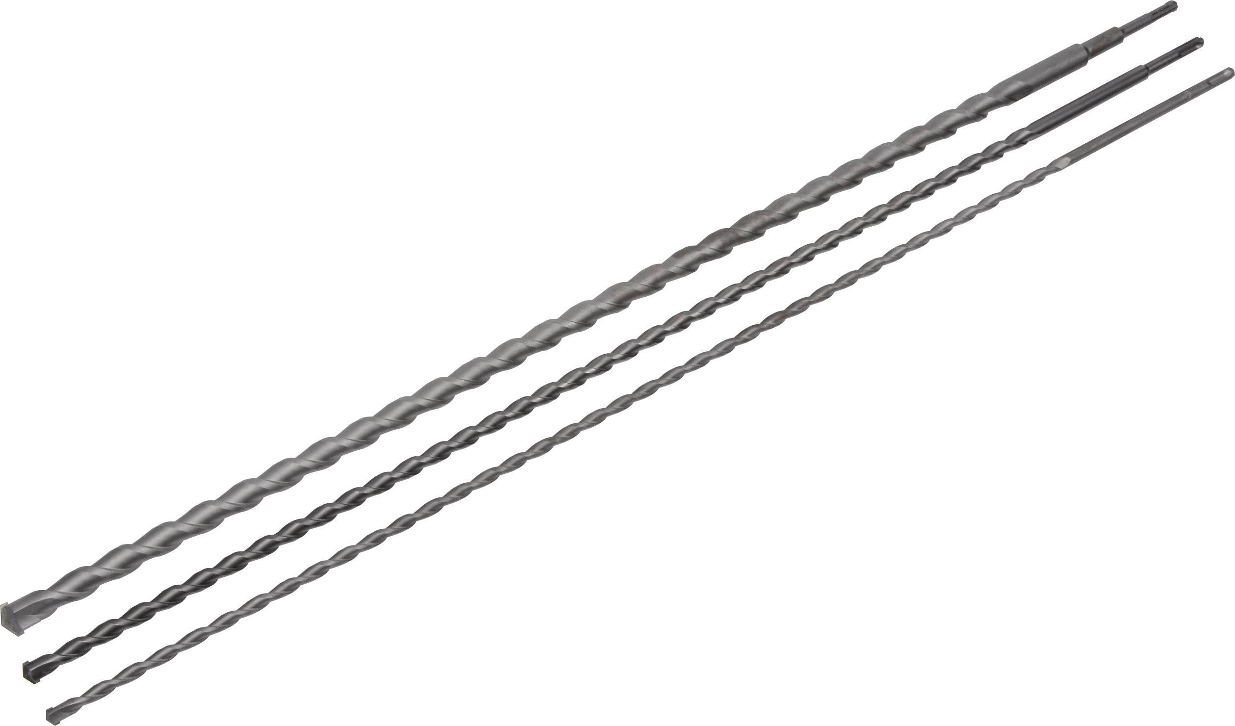 Wolfcraft Durchbruchbohrer Hartmetall Ø 12 x 600 mm Sechskantschaft
