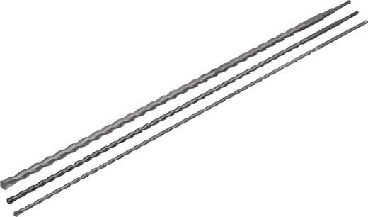 Hartmetall Durchbruchbohrer 3teilig 12 mm, 16 mm, 24 mm AVIT AV08014 Gesamtlänge 1000 mm SDS-Plus 1 St.