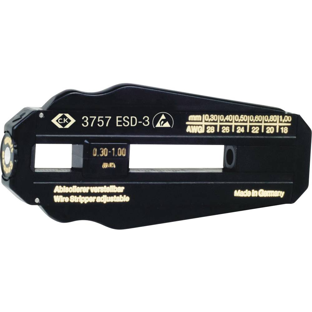 ESD-Drahtabisolierer Geeignet für PVC-Drähte, PTFE-Drähte 0.3 bis 1 ...