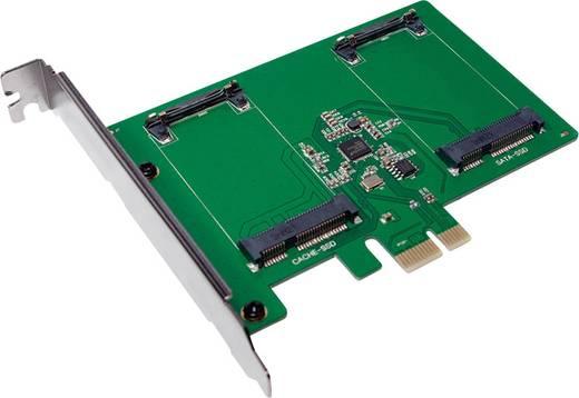 0+2 Port SATA III-Controllerkarte PCIe LogiLink PC0078