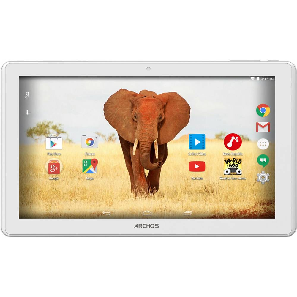 archos tablette android 10 1 pouces 64 go wifi blanc. Black Bedroom Furniture Sets. Home Design Ideas