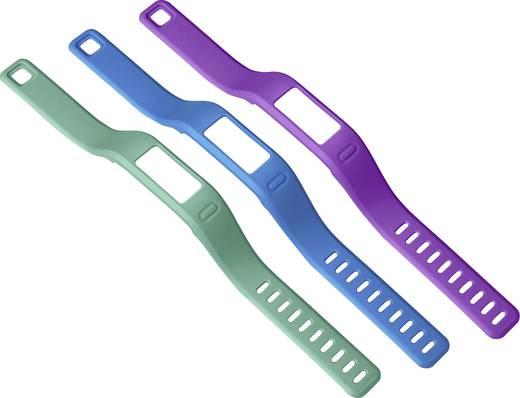 Ersatzarmband Garmin Vivofit Größe=S Blau, Lila, Grün