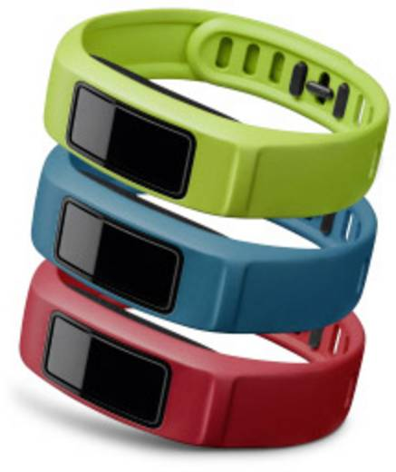 Ersatzarmband Garmin vivofit 2 Größe=L Rot, Blau, Grün