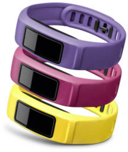 Ersatzarmband Garmin vivofit 2 Größe=S Gelb, Pink, Violett