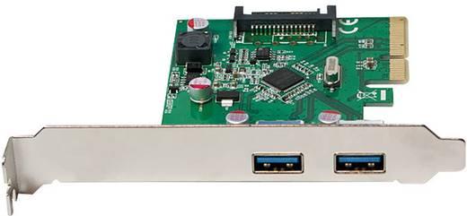 2 Port USB 3.1-Controllerkarte USB-A PCIe LogiLink PC0080
