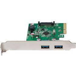 PCIe kontrolná karta USB 3.1 LogiLink PC0080 PC0080, 2 porty