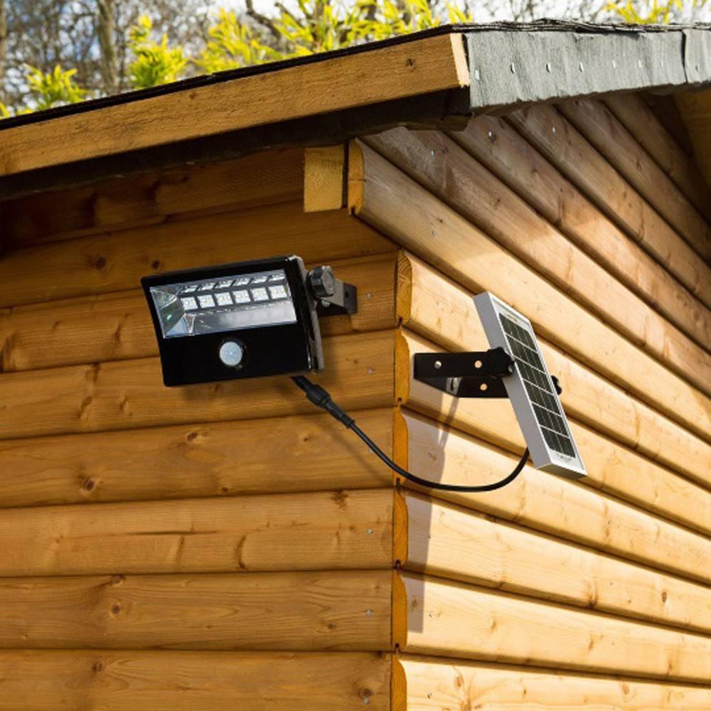 solar spot 28 w kalt wei diodor dio fl28w wm sp b schwarz im conrad online shop 1370251. Black Bedroom Furniture Sets. Home Design Ideas