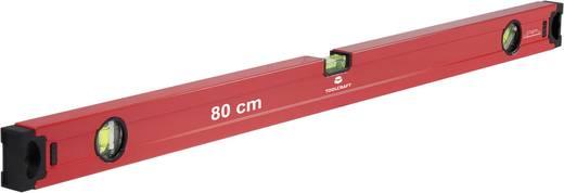 TOOLCRAFT 1370257 Leichtmetall-Wasserwaage 80 cm 0.5 mm/m Kalibriert nach: Werksstandard (ohne Zertifikat)