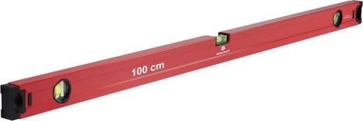 TOOLCRAFT 1370258 Leichtmetall-Wasserwaage 100 cm 0.5 mm/m Kalibriert nach: Werksstandard (ohne Zertifikat)